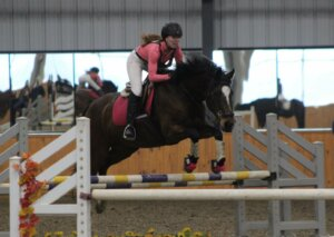 Charlotte the horse jumping