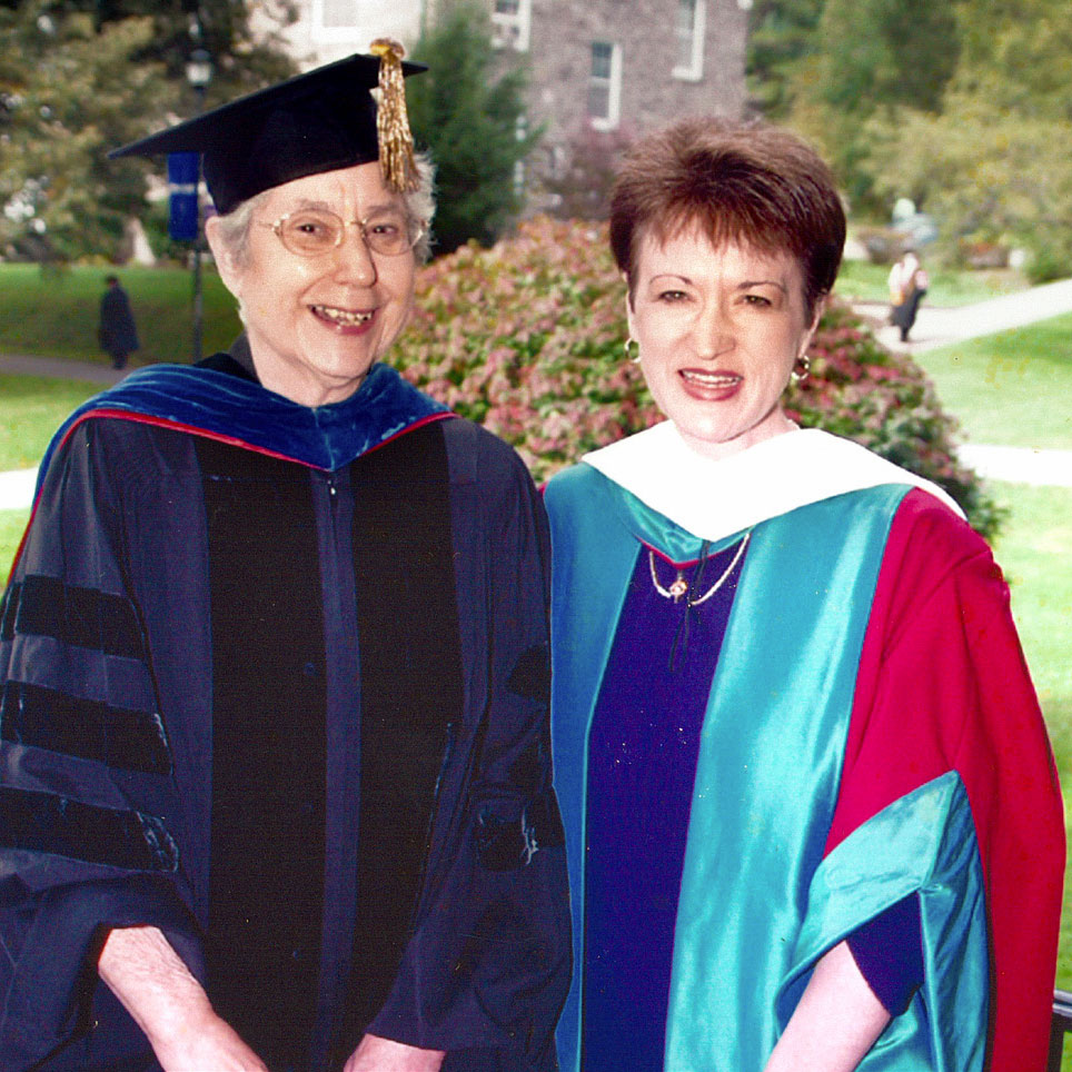 Kay Lindley and Shirley Mullen